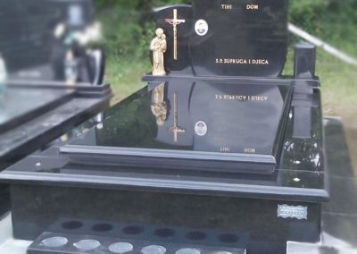Klesarstvo Rambousek - Jednostruka grobna mjesta